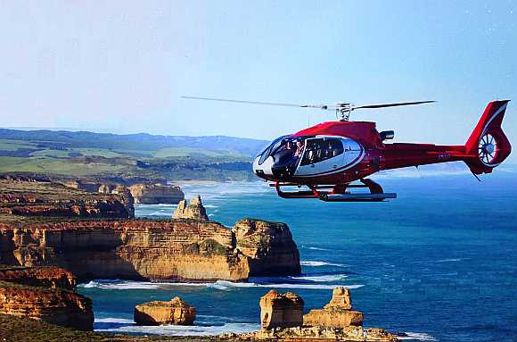 Great Ocean Road Helicopter Ride