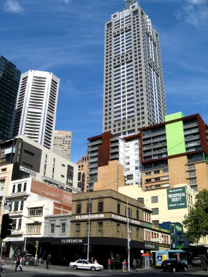 melbourne skyscrapers