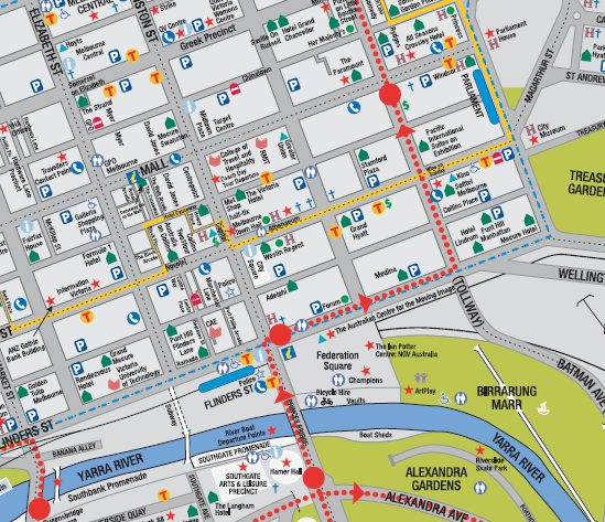 melbourne city map download